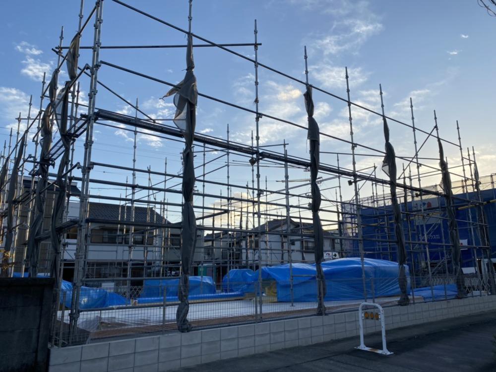 名古屋市西区 新築足場工事