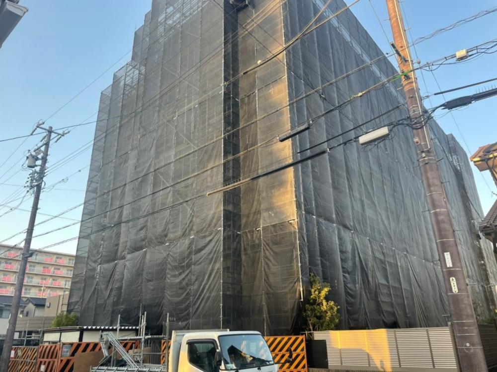 〈安城市〉F様大規模修繕足場工事