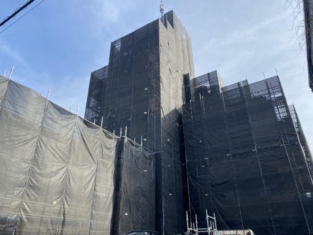 〈豊川市〉R様大規模修繕足場工事
